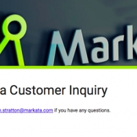 Markata Customer Inquiry - Google Form